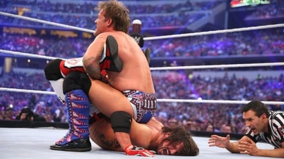 AJ Styles vs. Chris Jericho (WWE, WrestleMania 32)