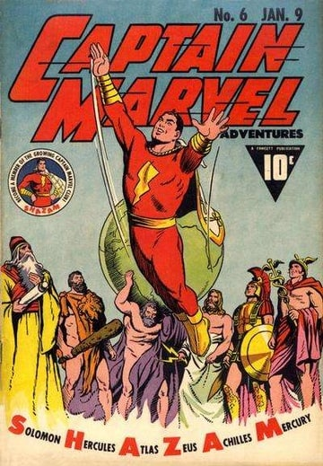 Captain Marvel Adventures #6
