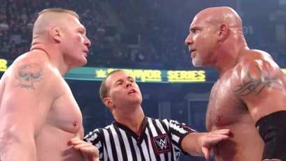 Goldberg vs. Brock Lesnar  (WWE, Survivor series 2016)