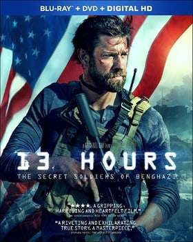 13 Hours: The Secret Soldiers of Benghazi (Blu-ray + DVD + Digital HD)