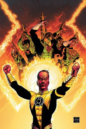 GREEN LANTERN: THE SINESTRO CORPS WAR VOL. 1