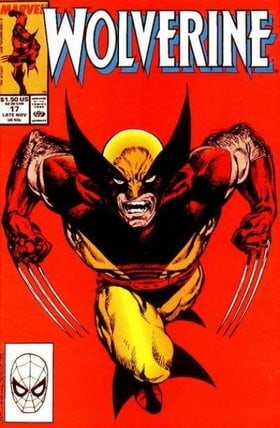 Wolverine #17 Late November 1989