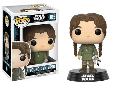 Funko POP! Star Wars: Rogue One - Young Jyn Erso