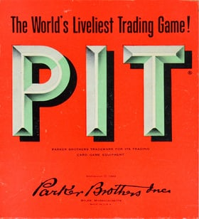 Pit (Parker Brothers - 1962)