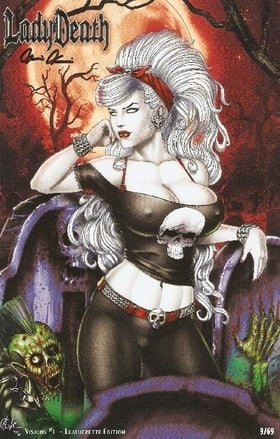 Lady Death: Visions