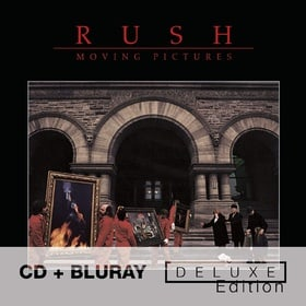 Moving Pictures - Deluxe Edition [CD + Blu-ray]