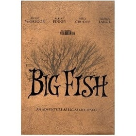 Big Fish (Limited Edition - Includes Hardcover Book, Film Frame and Fridge Magnet) [Region 3 Import]