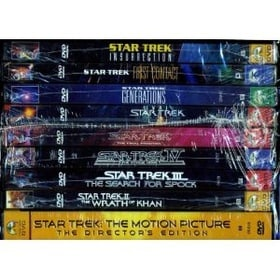 Star Trek:  The Motion Pictures DVD Collection   [Region 1] [US Import] [NTSC]