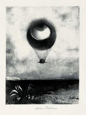 Odilon Redon or The Eye Like a Strange Balloon Mounts Toward Infinity