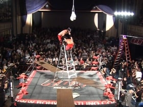 Briscoes vs Kevin Steen and El Generico (Ladder War)