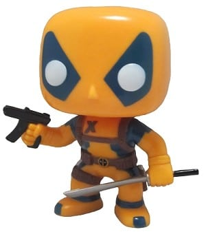 Marvel Pop! Vinyl: Deadpool Orange & Blue MegaCon Exclusive