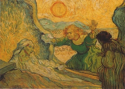Vincent van Gogh: The Raising of Lazarus (1890)