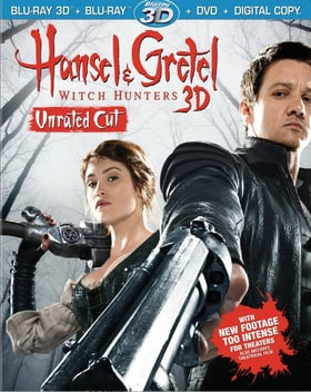 Hansel & Gretel: Witch Hunters 3D (Blu-ray 3D + Blu-ray + DVD + Digital Copy) (Unrated Cut)