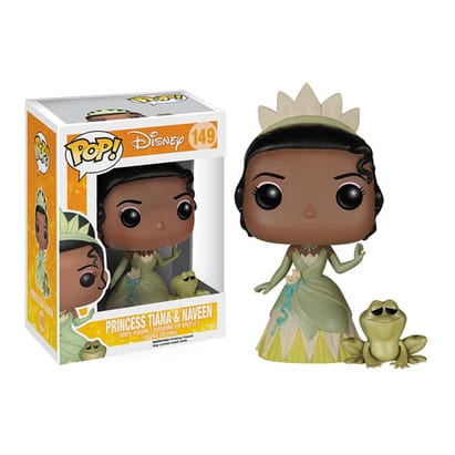 The Princess and the Frog Pop! Vinyl: Tiana and Naveen