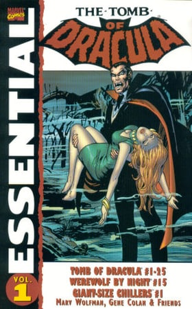 Essential Tomb Of Dracula Volume 1 TPB: v. 1