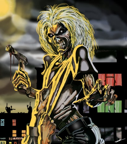 Eddie The Head(Iron Maiden)