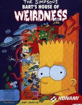 The Simpsons Bart Simpsons House Of Weirdness