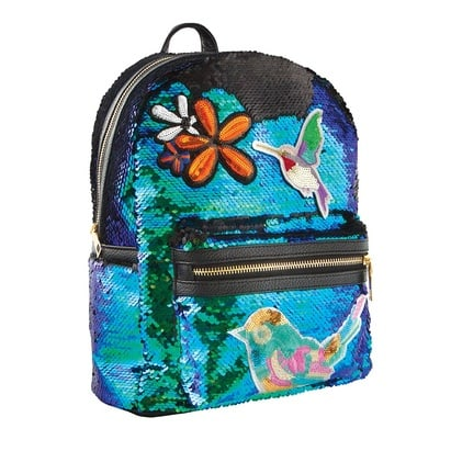 Magic Sequin and Patches Mini Backpack