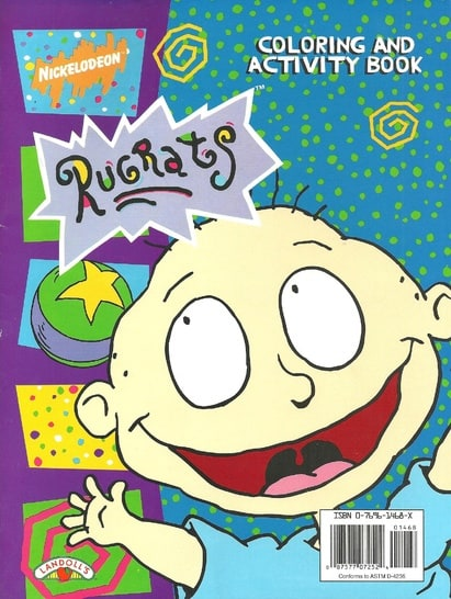 Rugrats: Coloring and Activity Book