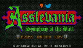 Asslevania: Symphony of the Butt