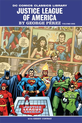 Dc Library Jla By George Perez HC Vol 01 (DC Comics Classics Library)