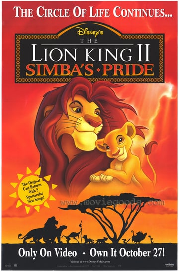 The Lion King II: Simba