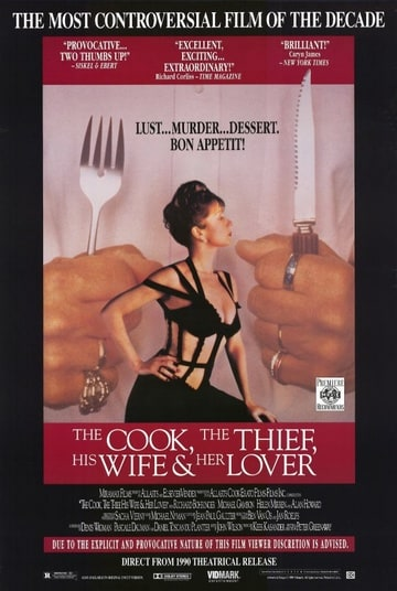 The Cook, the Thief, His Wife, and Her Lover (1989)